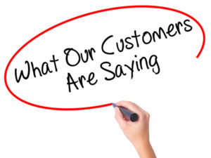 what our customers are saying image